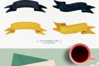 Banners—The-Foodie-Kit-Food-Kitchen-Illustrations-Lisas-Balcony