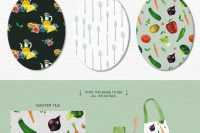 Patterns—The-Foodie-Kit-Food-Kitchen-Illustrations-Lisas-Balcony